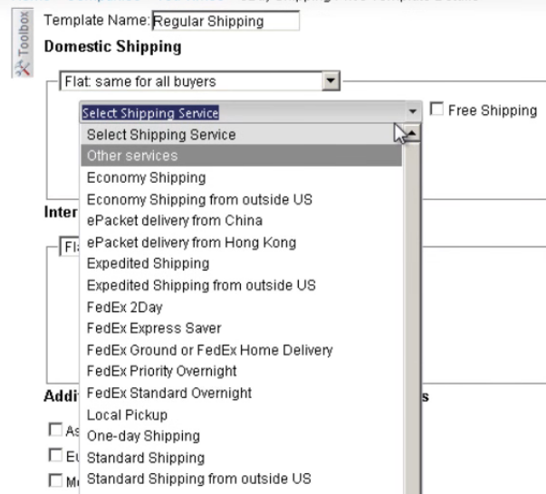How to Create Shipping Price Template for eBay From SellerCloud