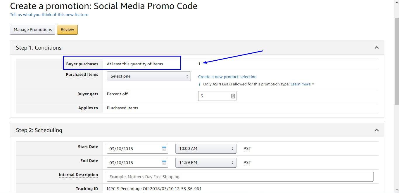Social Media Promotion Code