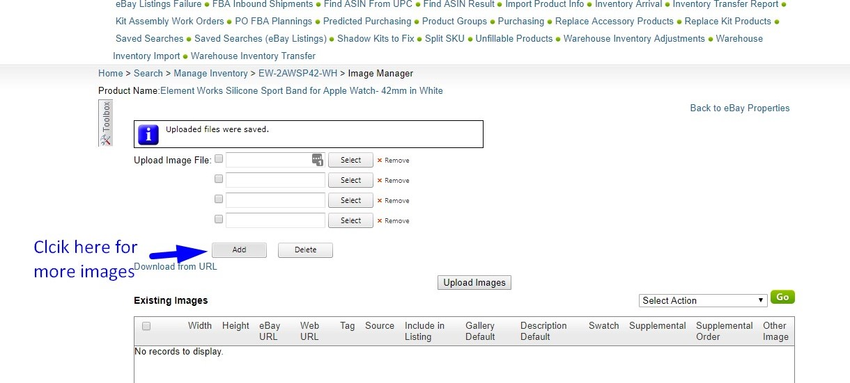 How To Give Image On SellerCloud
