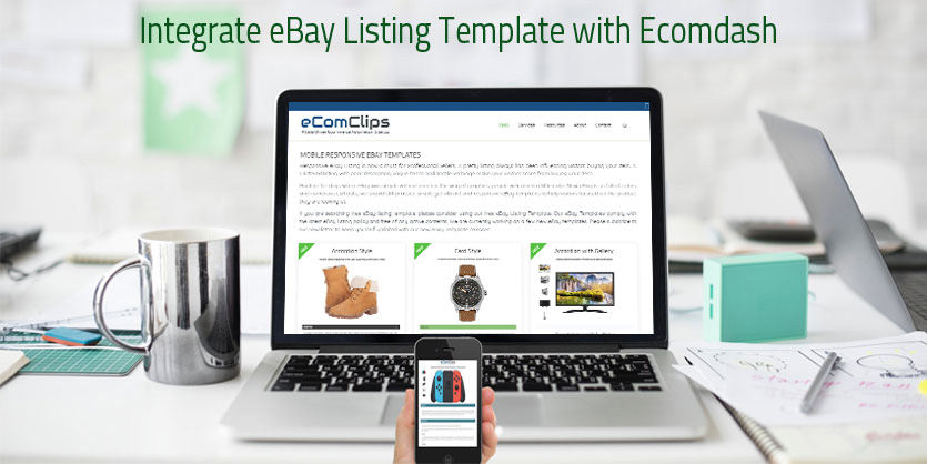 Integrate Responsive Ebay Listing Template With Ecomdash