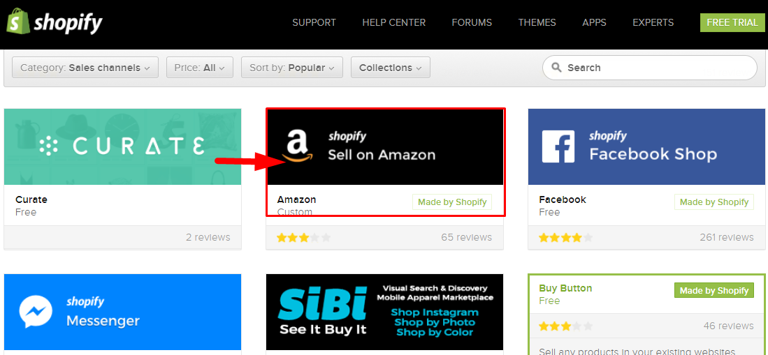 shopify latest integration