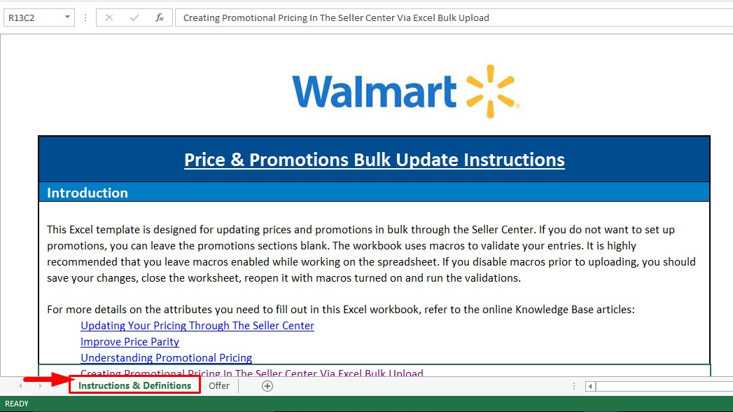 Walmart promotional offer