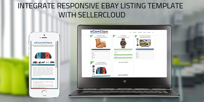 Integrate Responsive Ebay Listing Template With Sellercloud